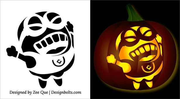 37++ Difficult pumpkin carving stencils free trends