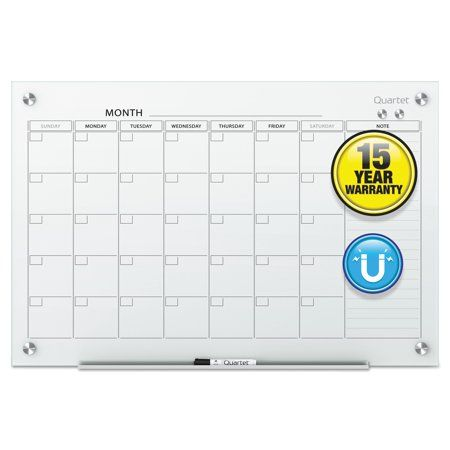 Free Shipping Buy Quartet Infinity Magnetic Glass Calendar Board