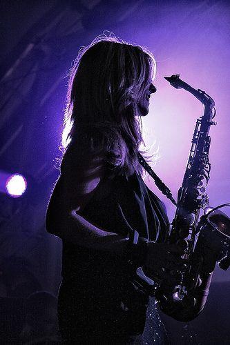 Candy Dulfer Saxofon Amor A La Musica Y Jorge Aguirre