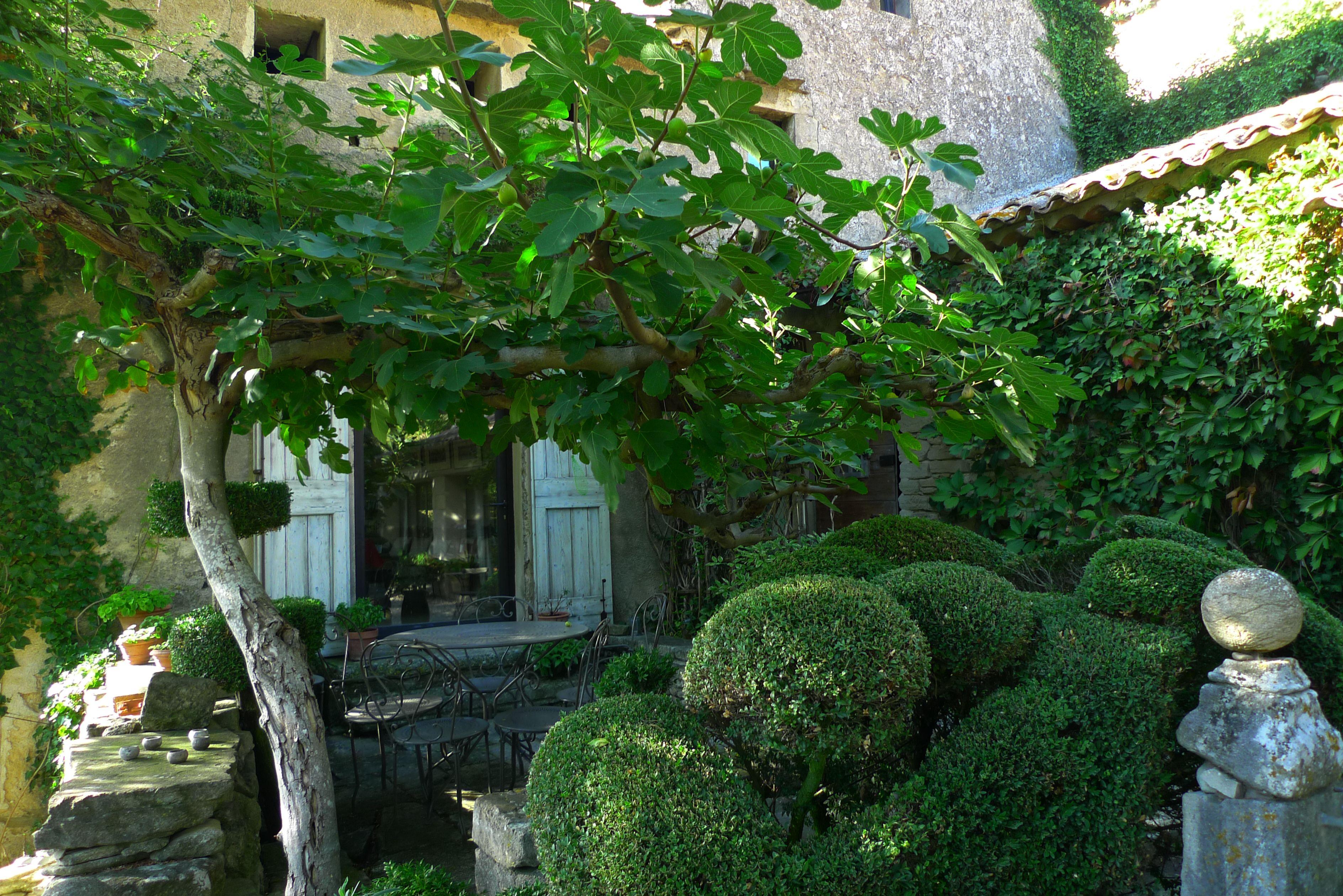 jardin de nicole de vesian  bonnieux/luberon  photo:s.kanin