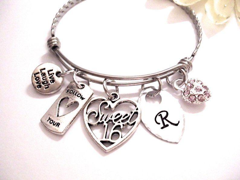Sweet 16 Gift Bracelet Jewelry Birthday