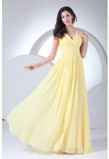 Yellow wedding dresses plus size