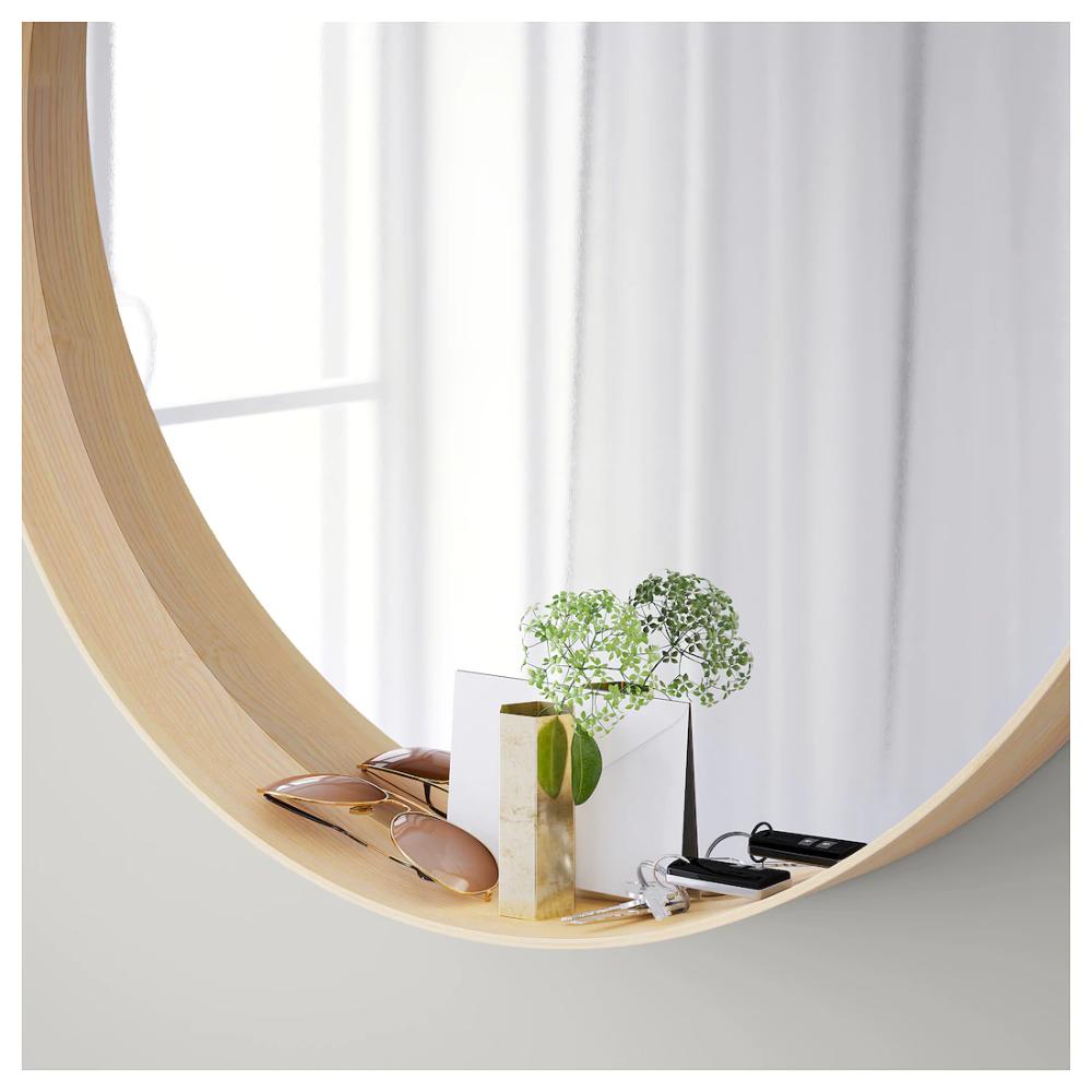 Specchi Ikea Da Bagno.Stockholm Mirror Ash Veneer 31 1 2 Impiallacciatura Di Legno