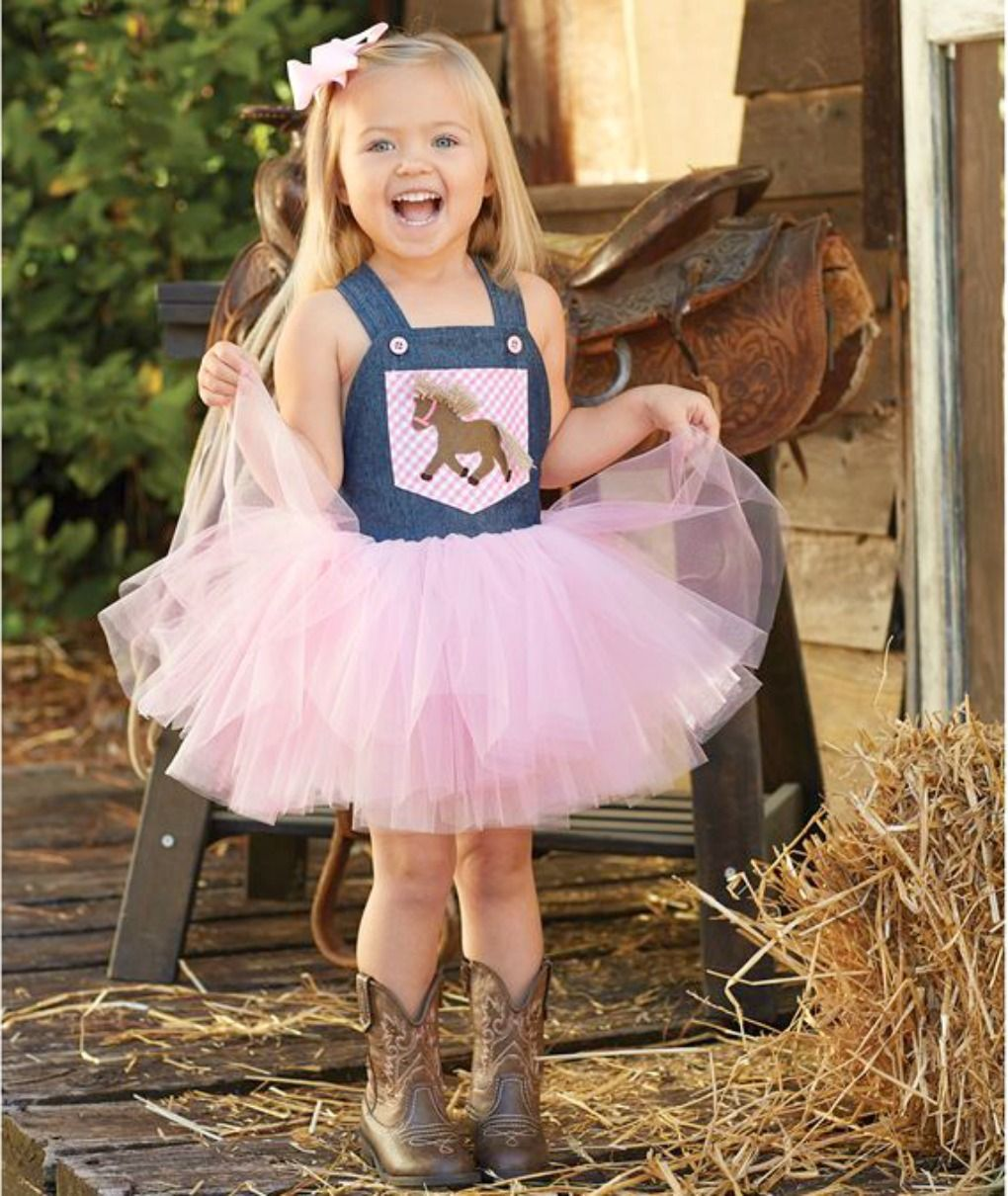 Mud Pie Little Girls 2 Pc Set : Overall Tutu Dress and Headband Bow ...