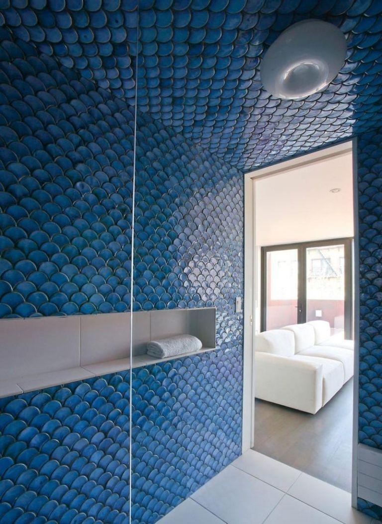 Decoration D Interieur Blanche Et Bleue Toutes Les Pieces En 50