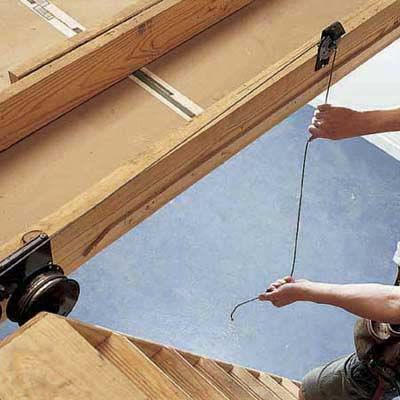 How To Install Pull Down Attic Stairs Attic Stairs Pull Down Attic Renovation Attic Stairs