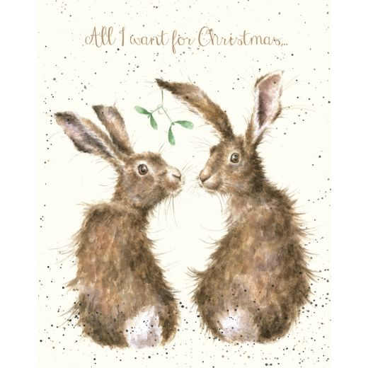 'All I Want for Christmas' card