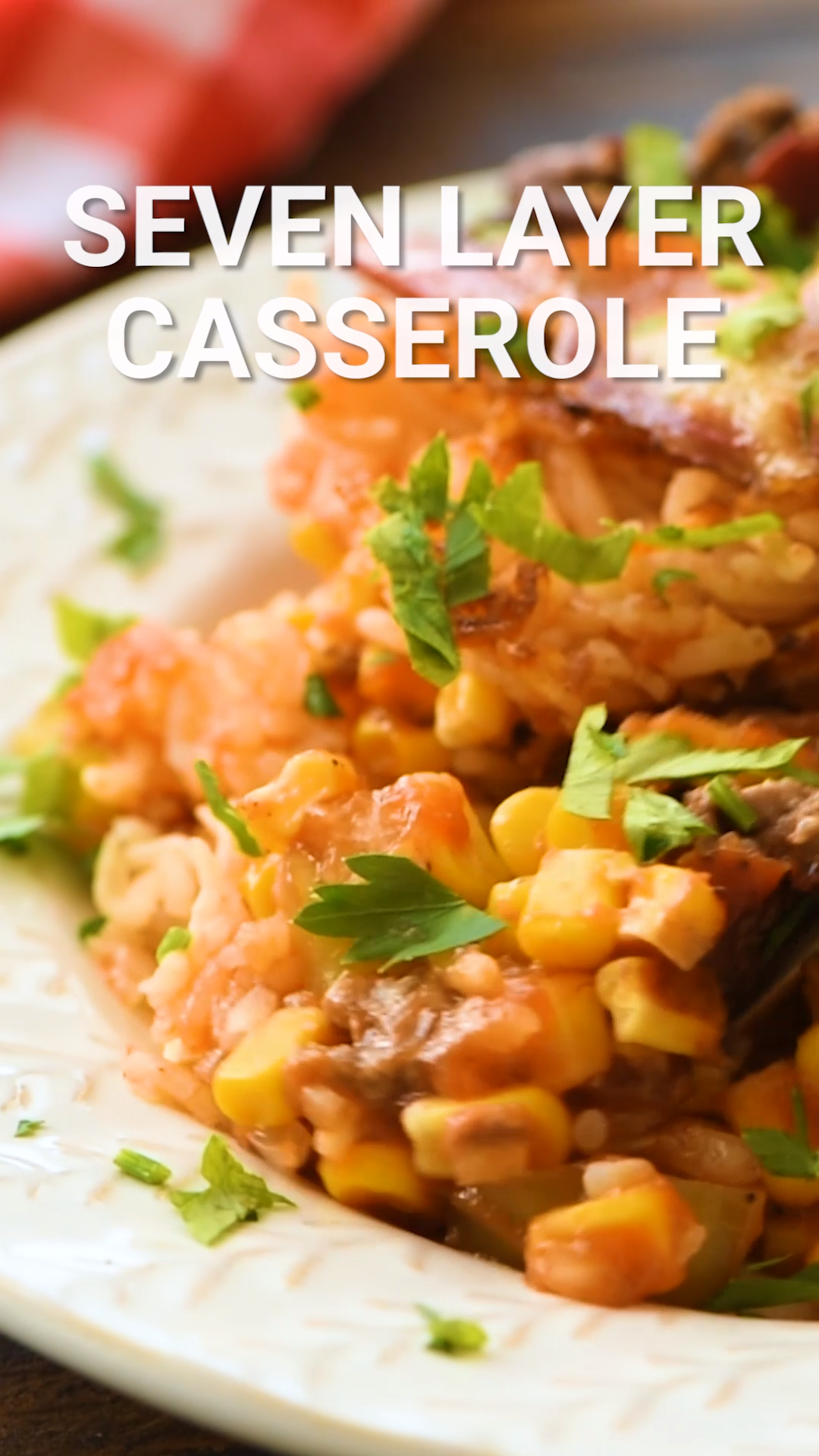 7 Layer Casserole Video Ground Beef Recipes For Dinner Ground Beef Recipes Easy Beef Casserole Recipes