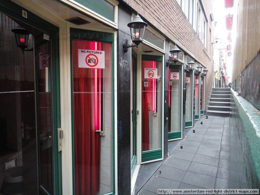 Amsterdam Red Light District Goldbergersteeg Amsterdam Red