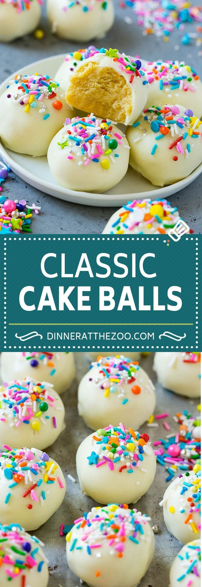 Cake Balls Recipe - Dinner at the Zoo