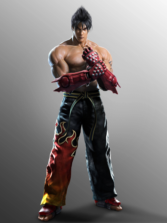 Tekken Tag Tournament 2 Character Renders Jin Kazama Tekken