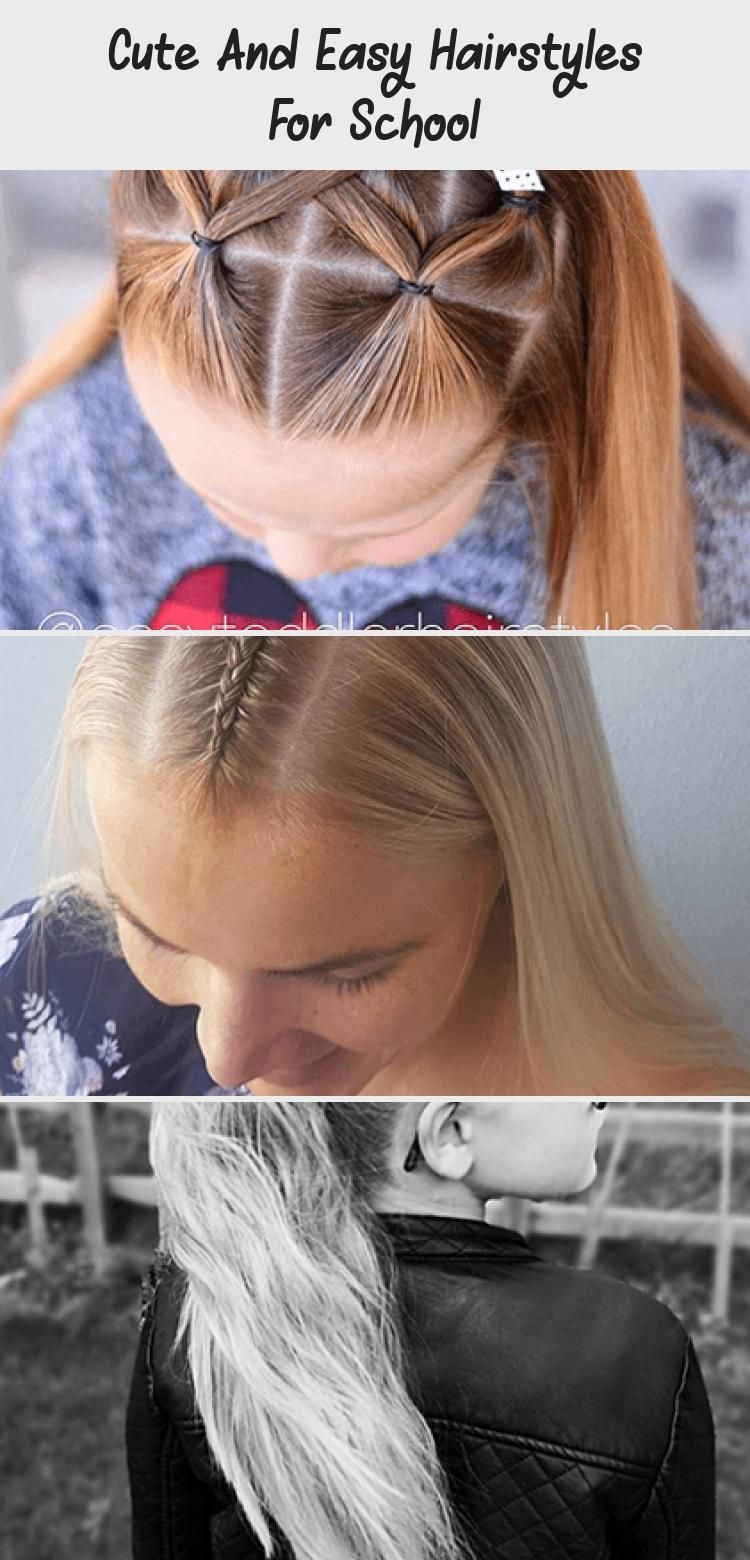 Cute and Easy Hairstyles For School # ...