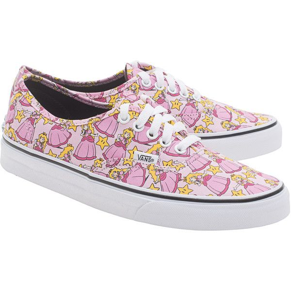 6f0915bbaf3e1e VANS X NINTENDO Nintendo Princess Peach    Limited sneakers ( 84) ❤ liked  on Polyvore featuring shoes