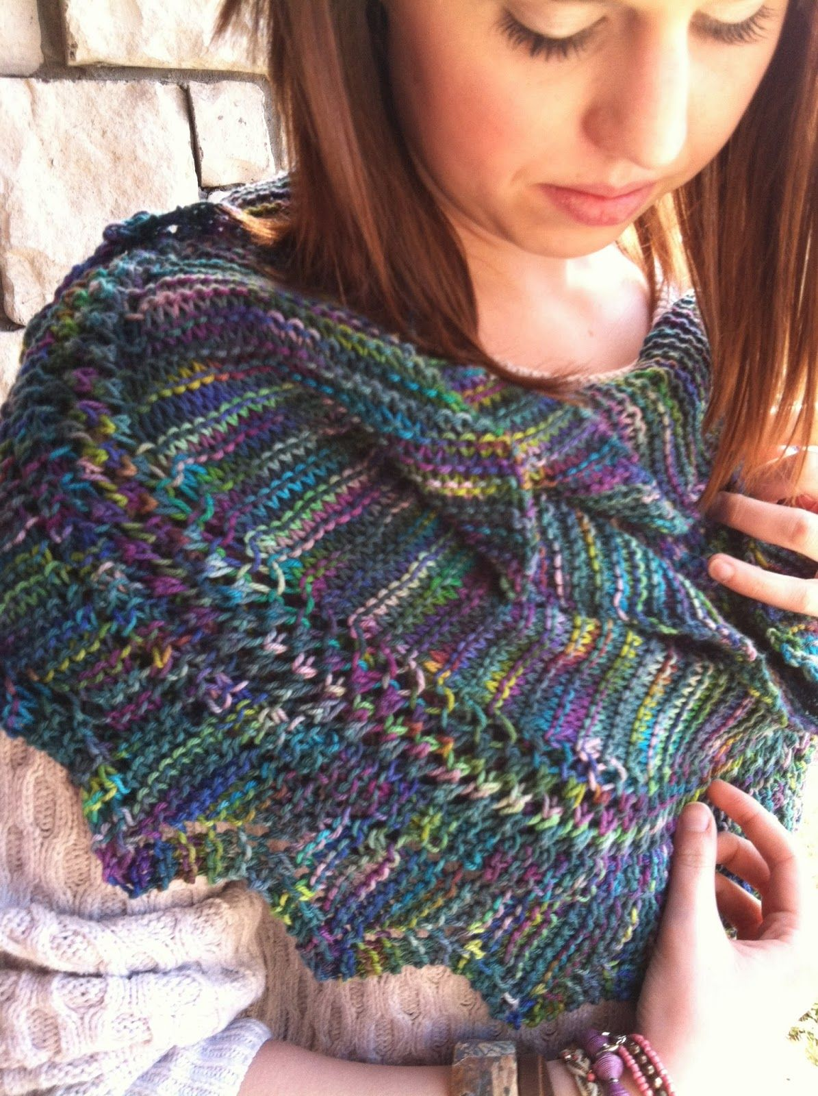 Lorene\'s Christmas Scarf By Karly - Free Knitted Pattern ...