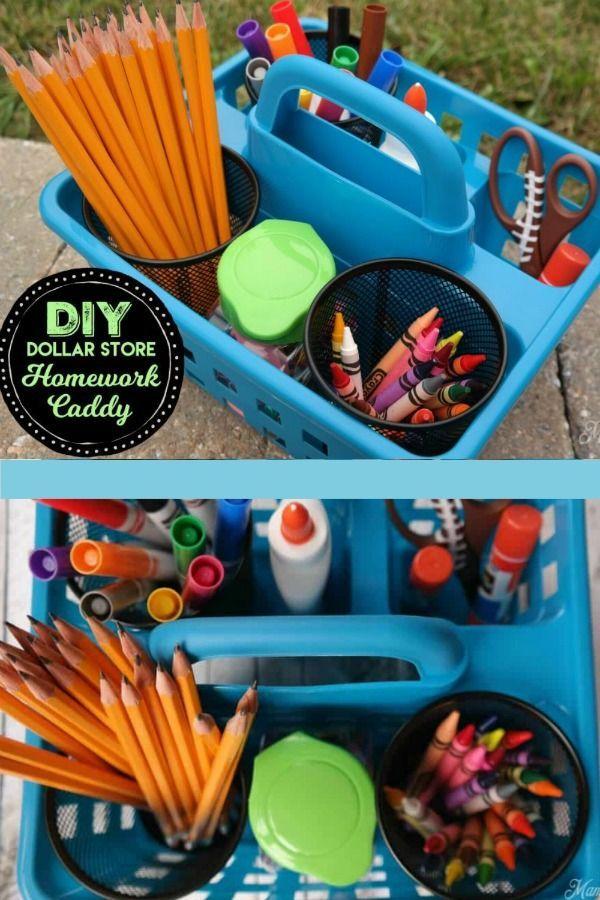 Kids Craft Room Organization Dollar Stores
