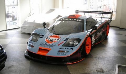 Gulf Mclaren F1 Gtr Longtail Mclaren F1 Mclaren Cars Gt Cars