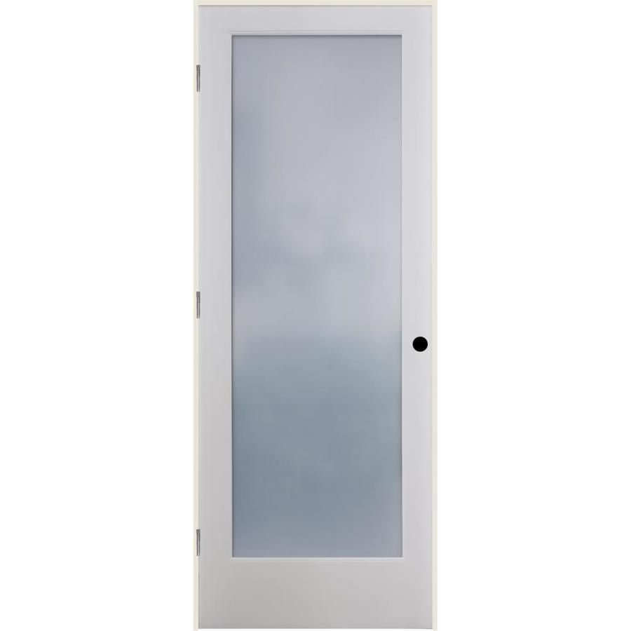 American Building Supply White 1 Panel Solid Core Wood Pine Pre Hung Door Common 30 In X 80 In Actual 31 375 In X 81 6875 In Lowes Com In 2020 Reliabilt Prehung Doors Glass Doors Interior