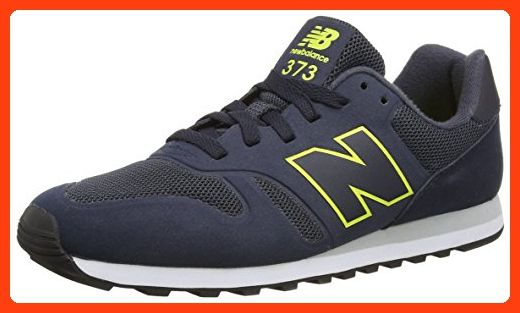 New Balance MD_WD373V1, Herren Sneakers, Blau (Blue/Yellow ...
