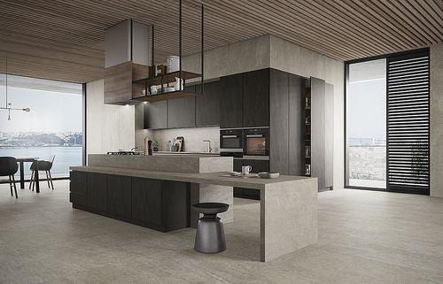 Linea Slabstone light grey Cozinha_V1