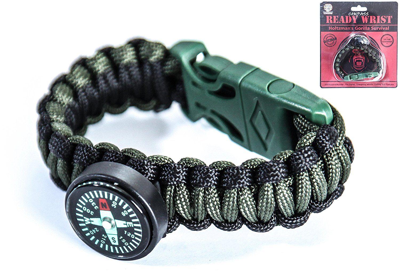 Paracord Bracelet Survival Emergency Kit A Parachute Cord Survival