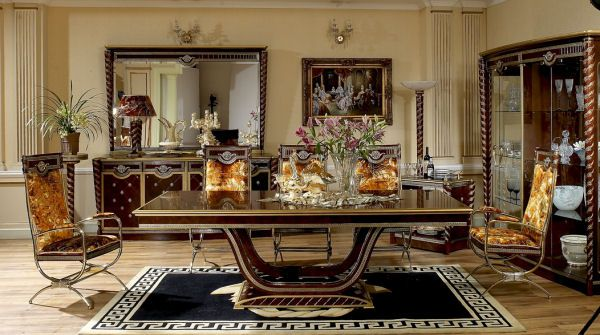 Luxury Dining Room Furniture Is One Of The Largest Italian Style