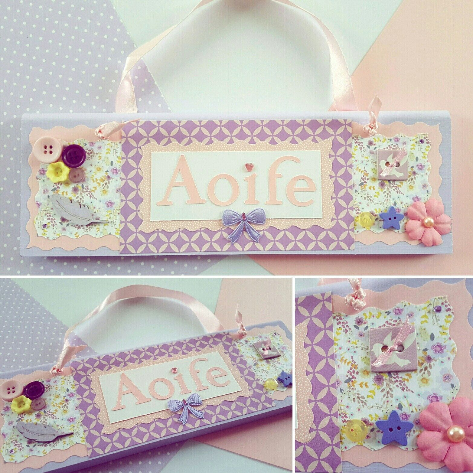 Personalised name plaque door plaque home decor custom baby personalised name plaque door plaque home decor custom baby gift childrens birthday gift sign kids gift handmade room decorations negle Choice Image