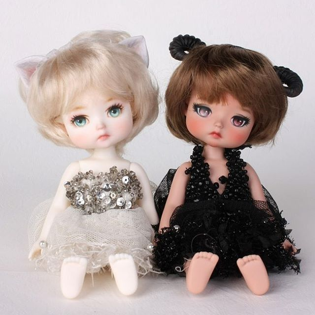 """좋아요 7개, 댓글 10개 - Instagram의 mini(@petite_jiwoo)님: """"#petitejiwoo #doll #resindoll #dollstagram #toy #arttoy #tiny #handmade #dollpainting #dollmakeup…"""""""