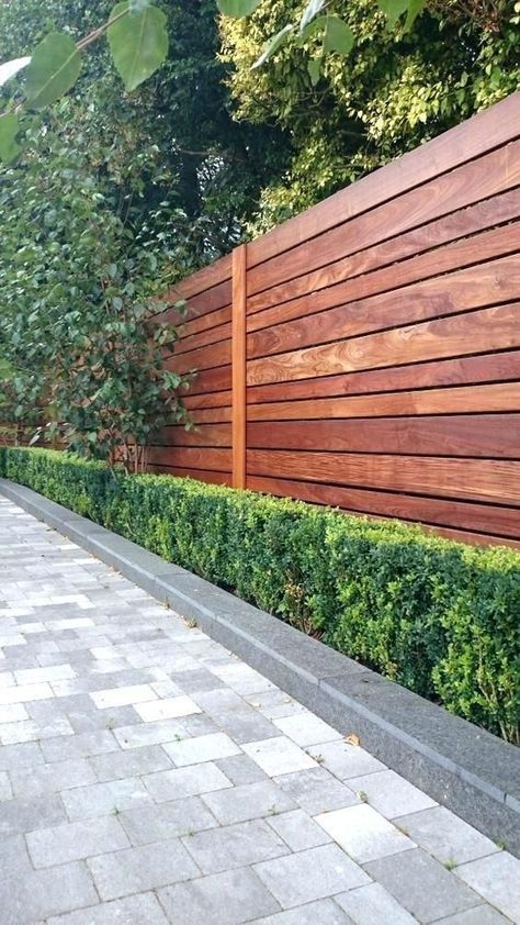 modern fence styles full image for contemporary garden fence designs ...