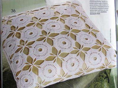 croche+of+the+design   CROCHÊ: Almofada branca