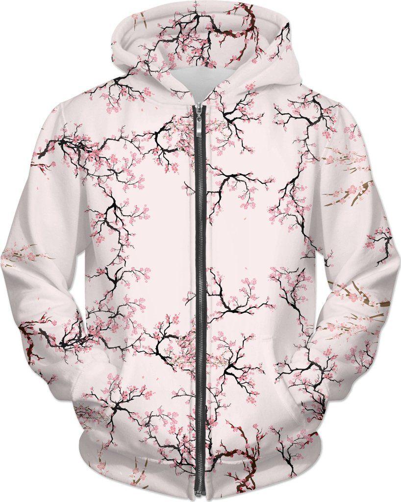 Sakura Cherry Blossom Hoodie Sakura Cherry Blossom Cherry Blossom Cherry Blossom Tree Tattoo