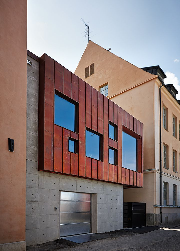 Gallery of Clarion Hotel Wisby   Visbyark - 1 Façades, Projet - exemple de facade de maison