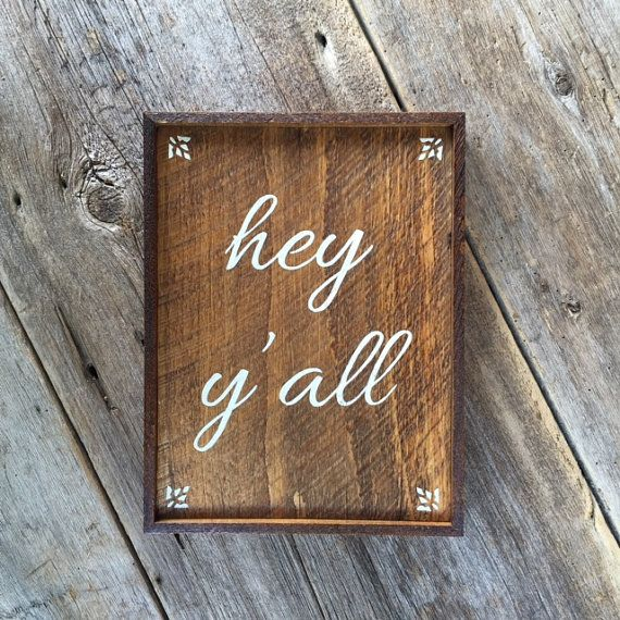 Country Decor Wood Signs Amazing Hey Y'all Sign Welcome Sign Wall Decor Wood Signs Outdoor Sign 2018