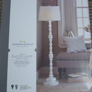 Threshold Two Bulb Floor Lamp | http://corbytown.info | Pinterest ...