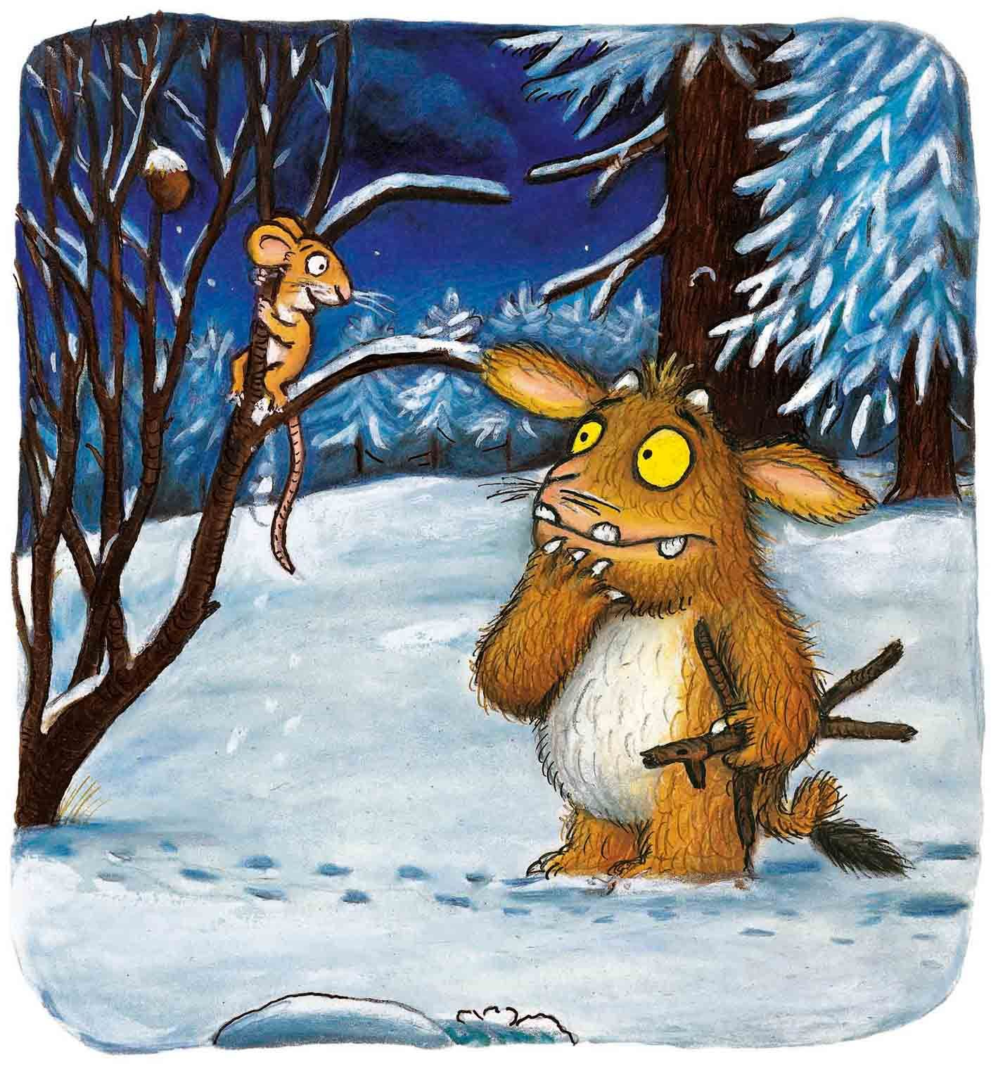 Gruffalo S Child Listens To Mouse With Images