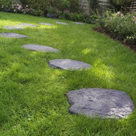 Pas Japonais Optimum Graphite Castorama Pas Japonais Amenagement Jardin Idees Jardin