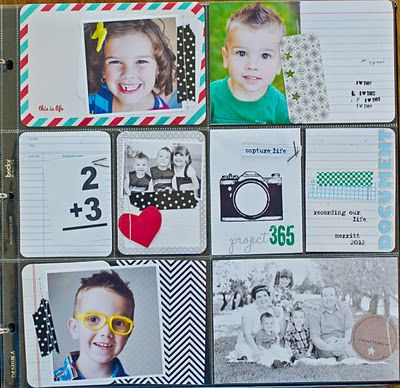 Project Life - A simple way to scrapbook.    Access it here: http://www.beckyhiggins.com/products/
