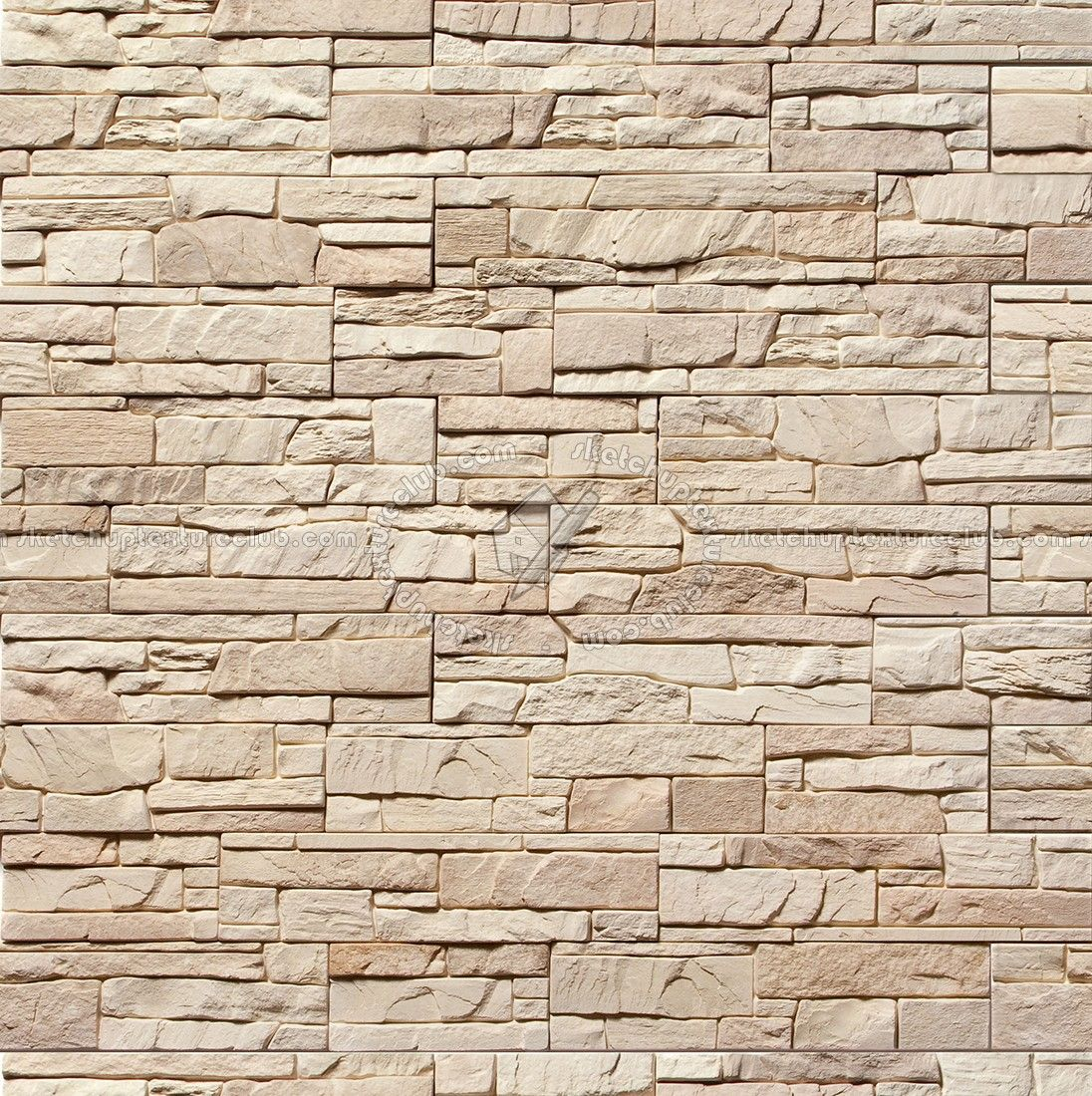 Stacked Slabs Walls Stone Textures Seamless Brick Texture