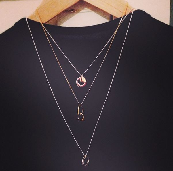 Layer on! #layering #necklace