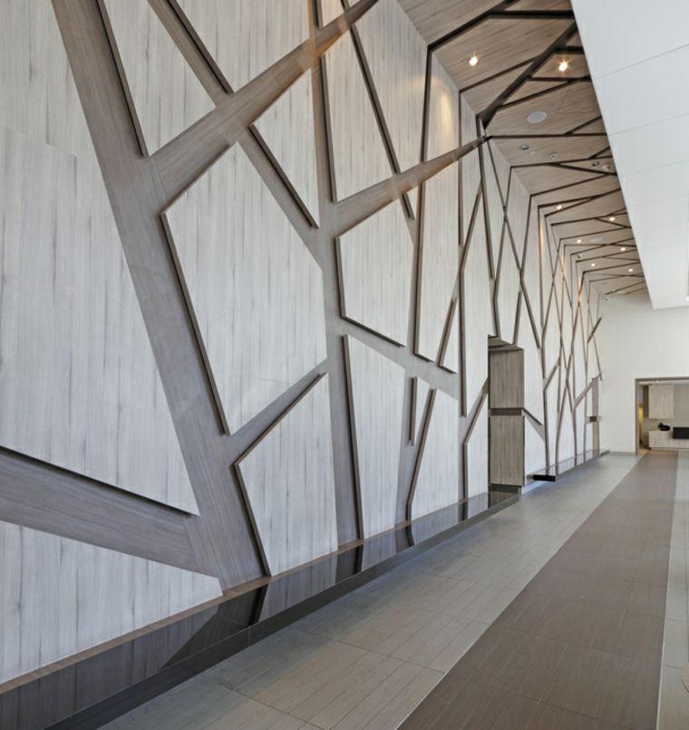 panel diseño paredes madera Paredes Pinterest - paredes de madera