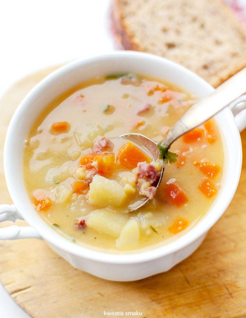 Zupa Grochowa Z Ziemniakami I Kiełbasą Kwestia Smaku
