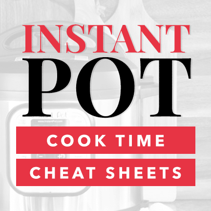 Photo of Instant Pot Cheat Sheet