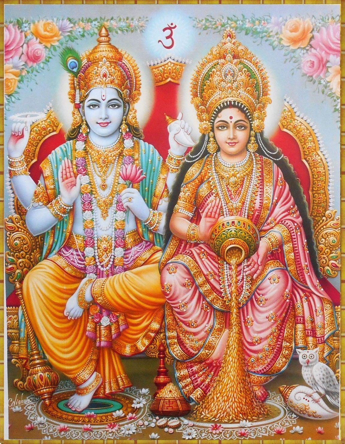 Lakshmi Narayana Lakshmi Images Vishnu Mantra Vishnu
