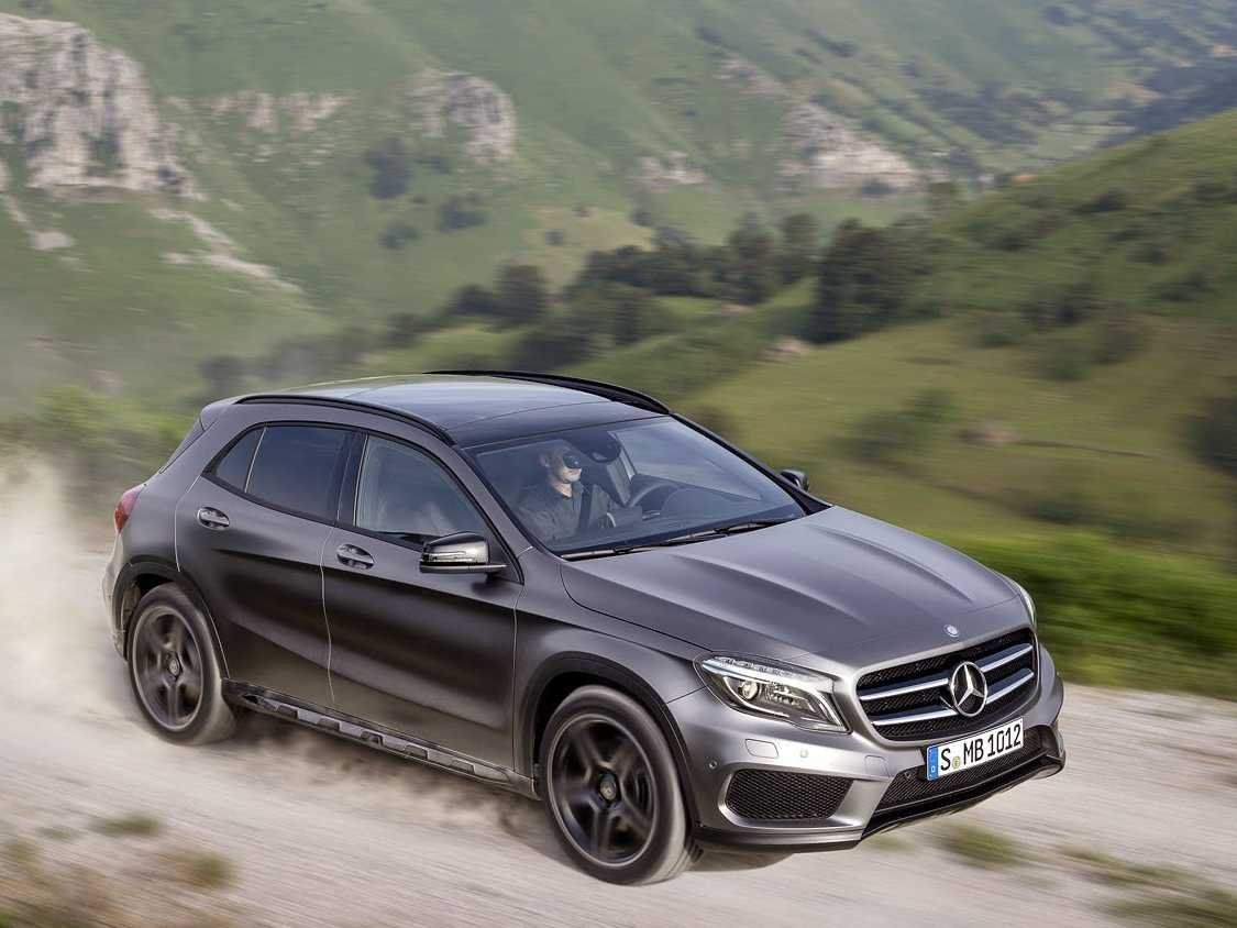 Mercedes benz just unveiled a teeny suv made for urban driving