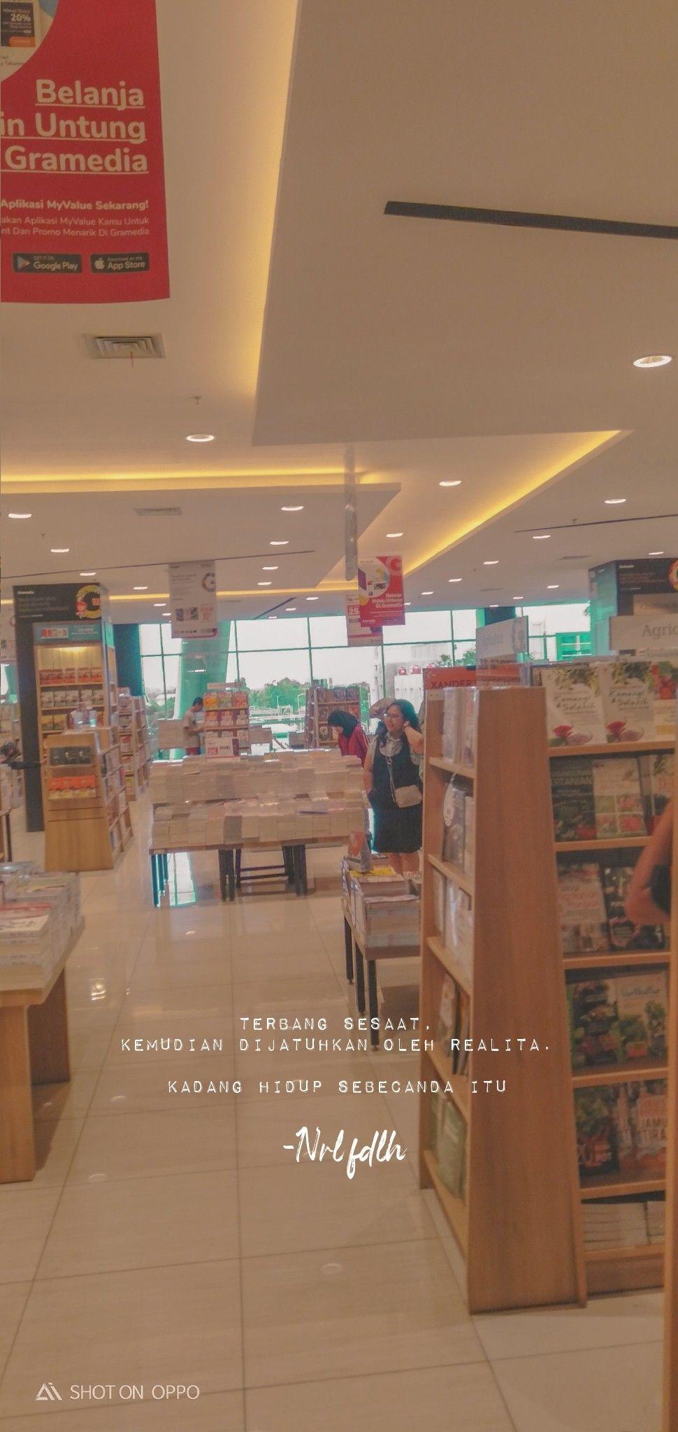 Lockscreen Gramedia Katakata Bucin Cinta Realita Ekspetasi