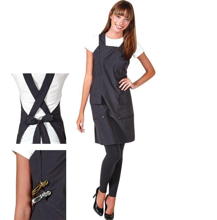 Betty Dain Criss Cross Comfort Fit Stylist Apron #185 $17 ...