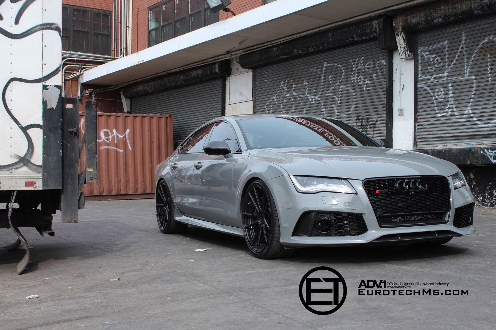 Audi Rs7 White Black Rims Audi