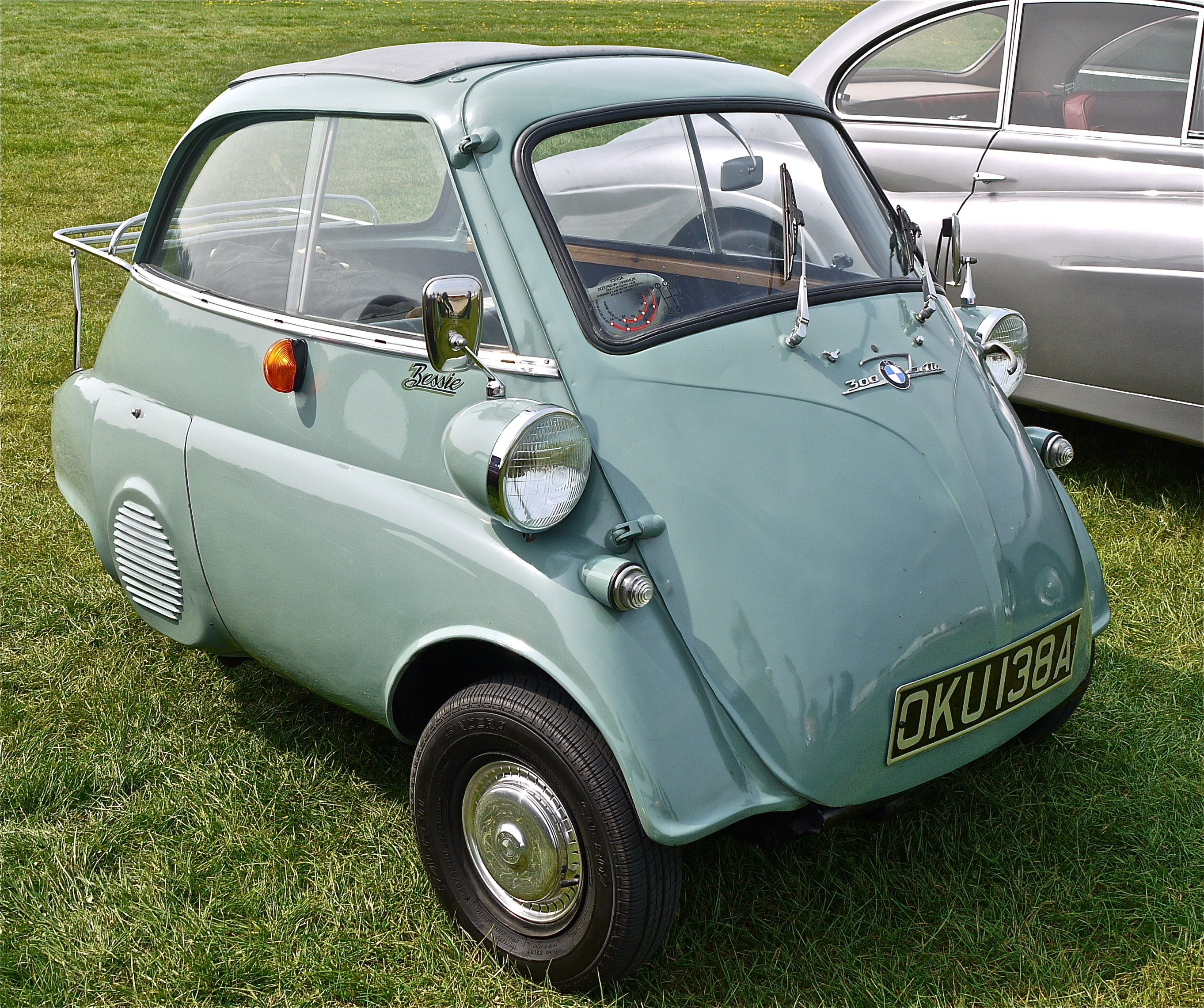 Bmw isetta the bmw isetta was in 1955 the world s first mass production km car note it was the top selling single cylinder car in the world