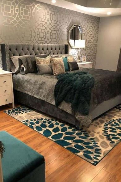Colores Para Dormitorios Matrimoniales Modernos Ideas Y Tendencias En Colores Para Dormitorios Colores P Master Bedrooms Decor Bedroom Design Apartment Decor