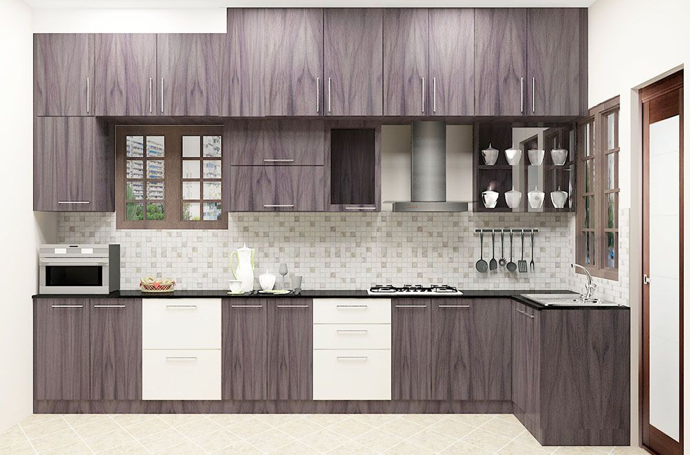 Pin de scaleinch en L Shaped Kitchen Design India | Pinterest