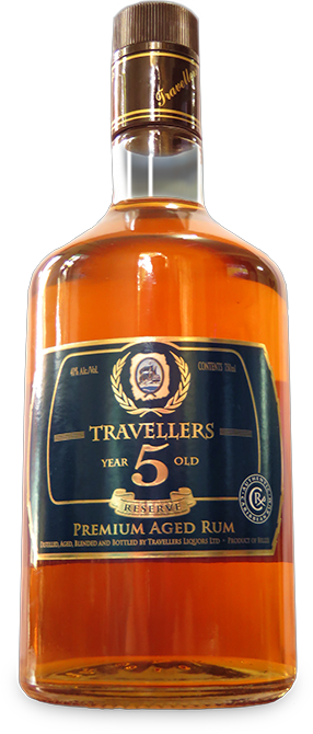 Travellers 5 Year Old Reserve Premium Aged Rum